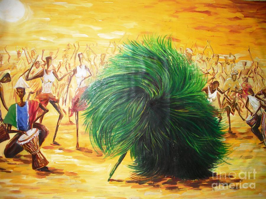 Kopu Painting by Dennis Spaine