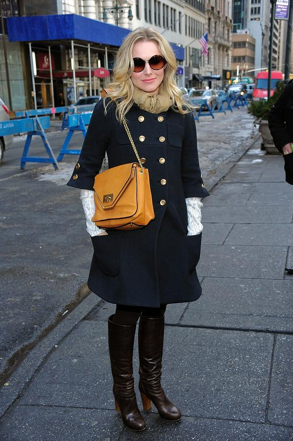 Kristen Bell Photograph - Kristen Bell Out And About For Sun by Everett
