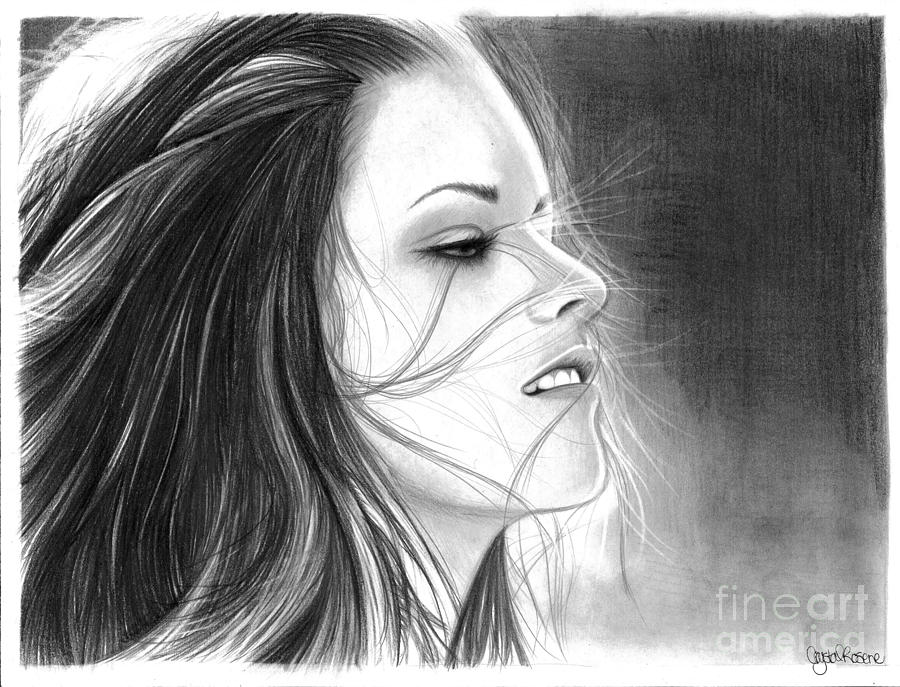 Kristen Stewart Drawing - Kristen Stewart by Crystal Rosene