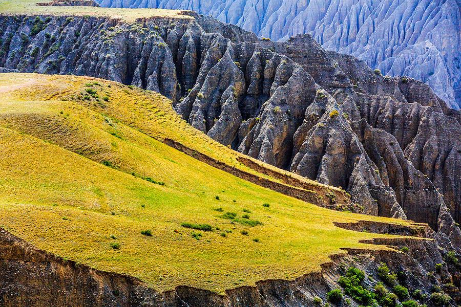 Kuitun Grand Canyon, Xinjiang China Photograph by Feng Wei Photography