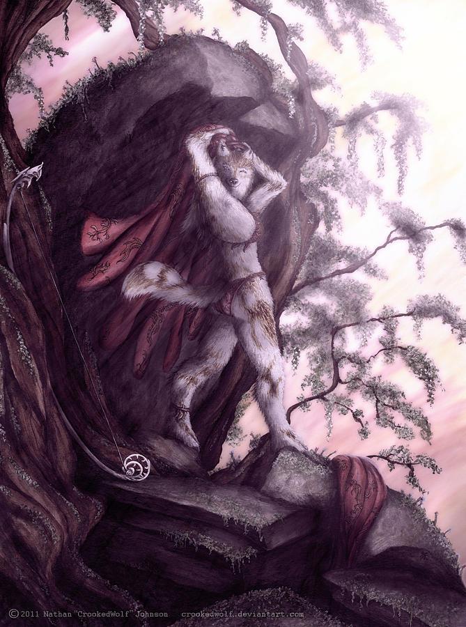 Kyllikki The Huntress Digital Art by Nathan Johnson