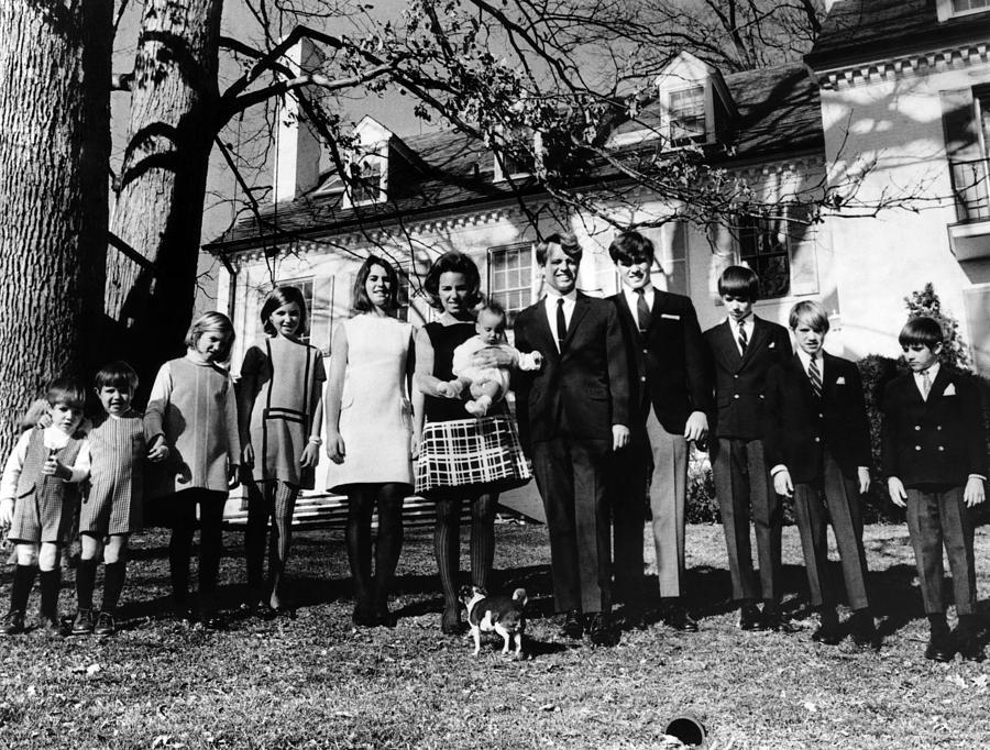 1960s Fashion Photograph - L-r Matthew Maxwell Taylor Kennedy by Everett