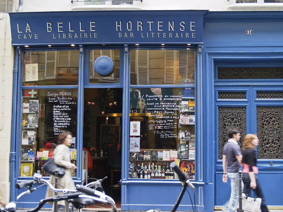 Buildings Photograph - La Belle Hortense. by Brian Scantlebury