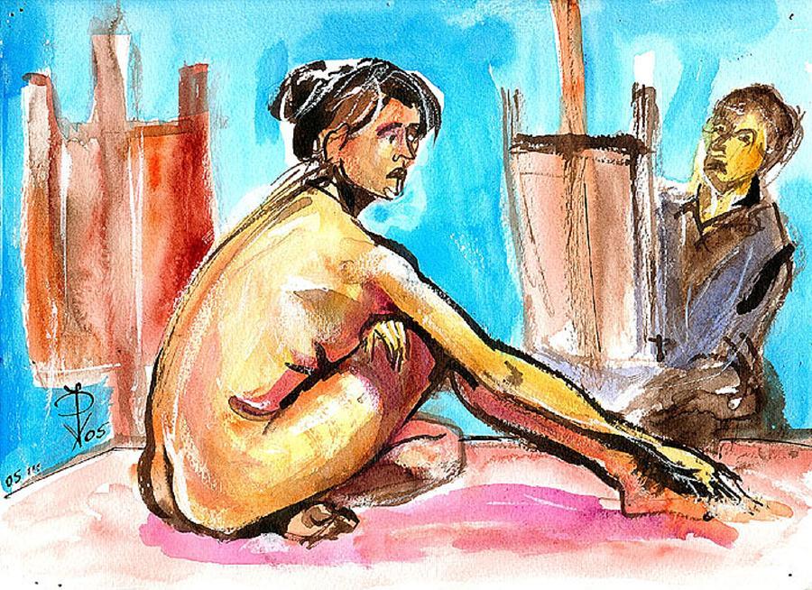 La Boheme An Artist Life Painting