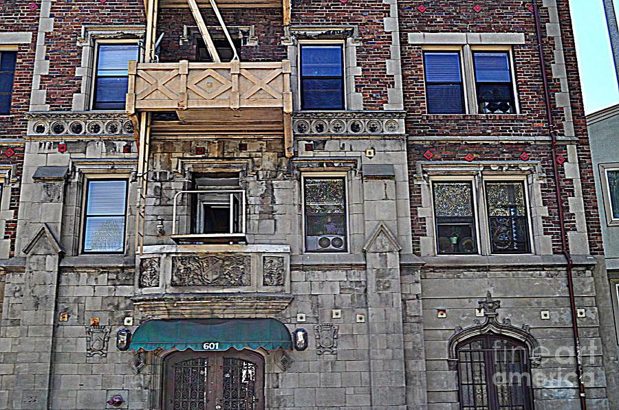 Old Building Photograph - La Building by Nicky Dou