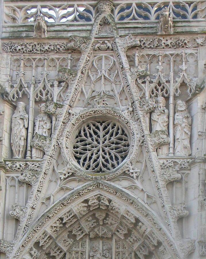 Picardy Photograph - la Chapelle du Saint Esprit by Maria Joy