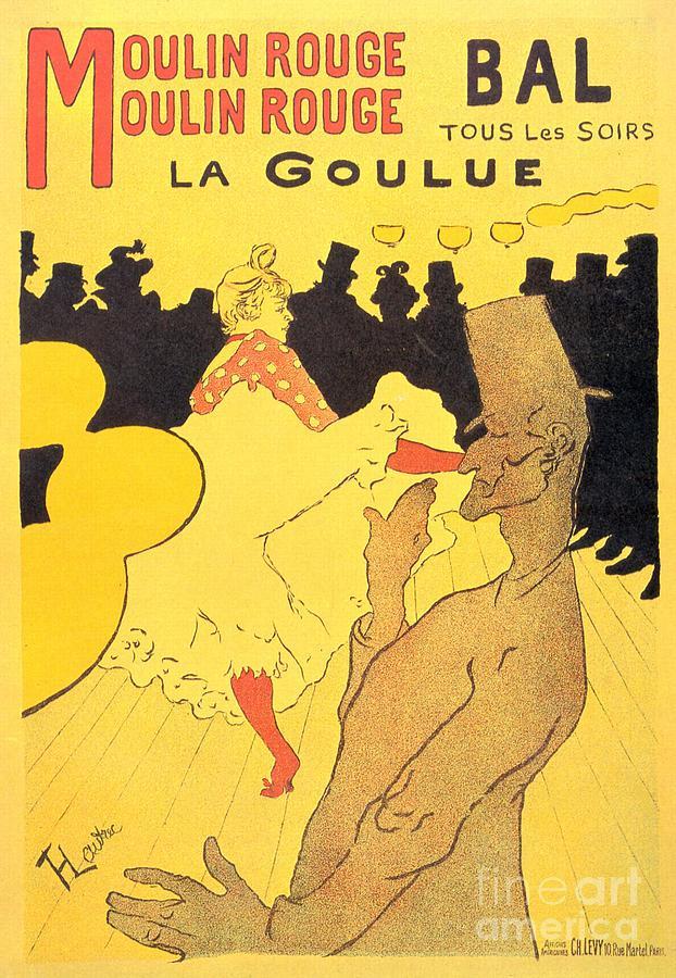 Henri De Toulouse-lautrec Paintings Painting - La Goulue by Pg Reproductions
