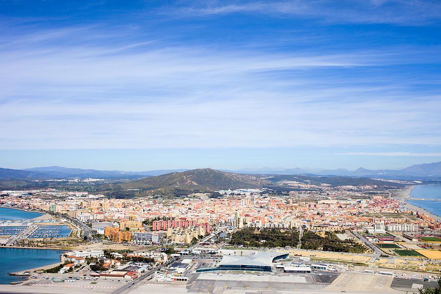 Town Photograph - La Linea De La Concepcion In Spain by Artur Bogacki