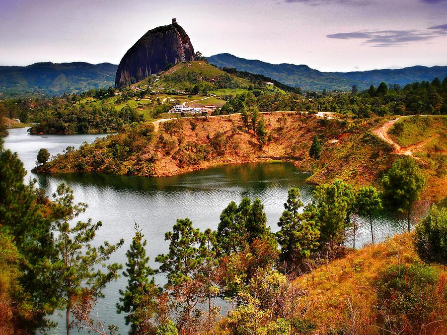La Piedrea Photograph - La Piedra by Skip Hunt