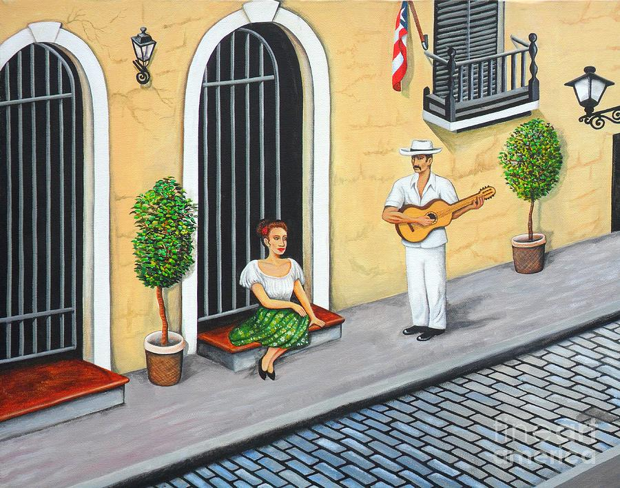 La Serenata Painting by Juan Gonzalez