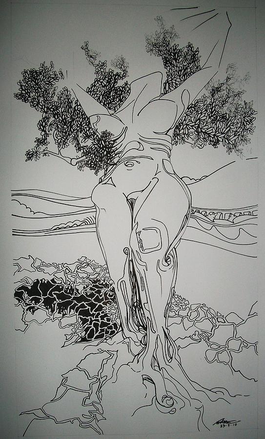 La Vita Drawing by Torre Mariano