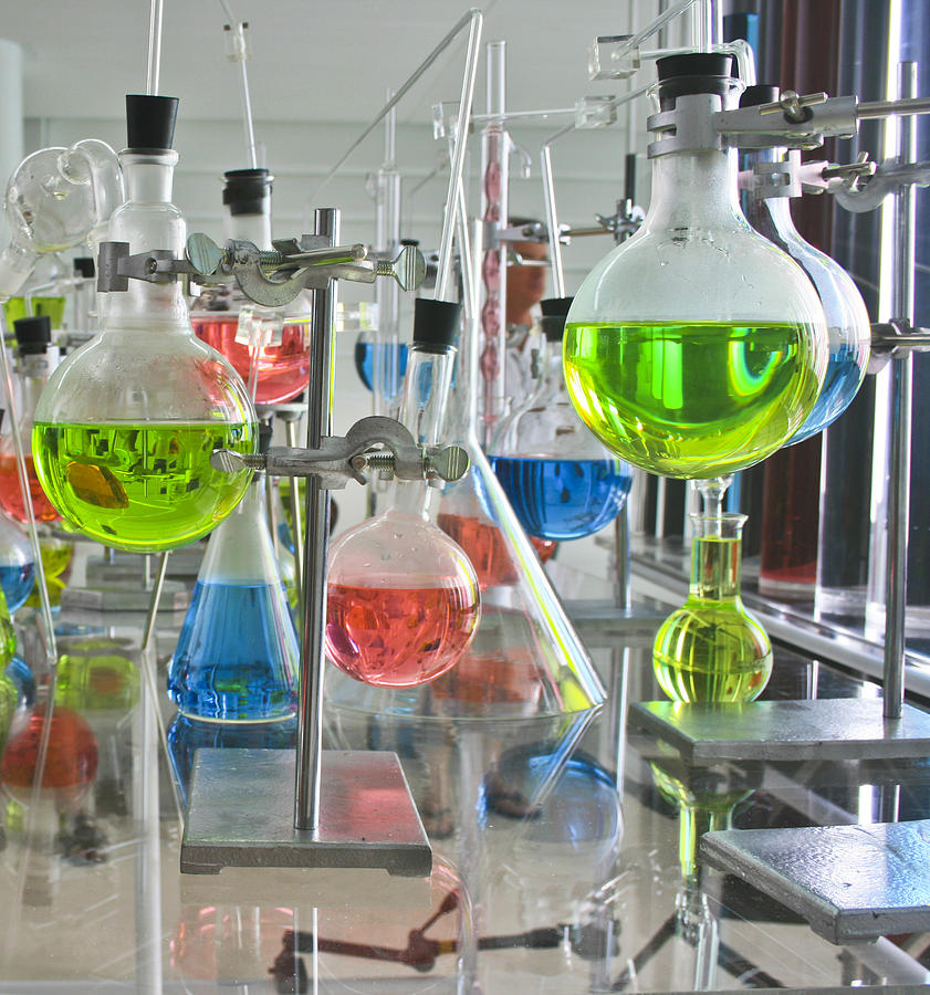 Laboratory Experiment Photograph By Kantilal Patel