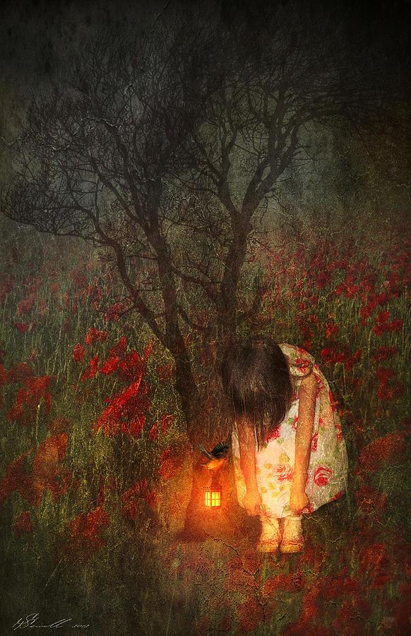 Branch Digital Art - Laces Undone by Svetlana Sewell