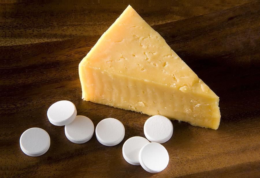 Lactase Photograph - Lactase Enzyme Tablets by Sheila Terry