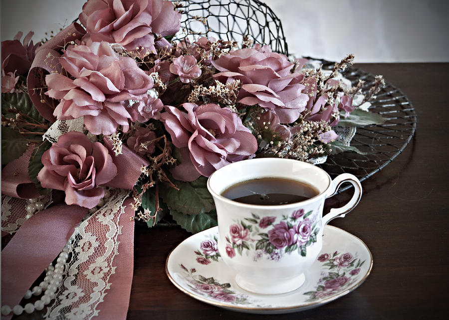 Ladies Tea Time Photograph by Sherry Hallemeier