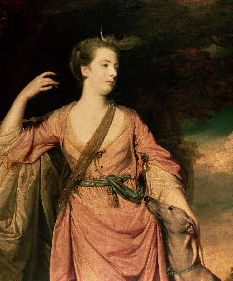 Lady Painting - Lady Dawson by Sir Joshua Reynolds