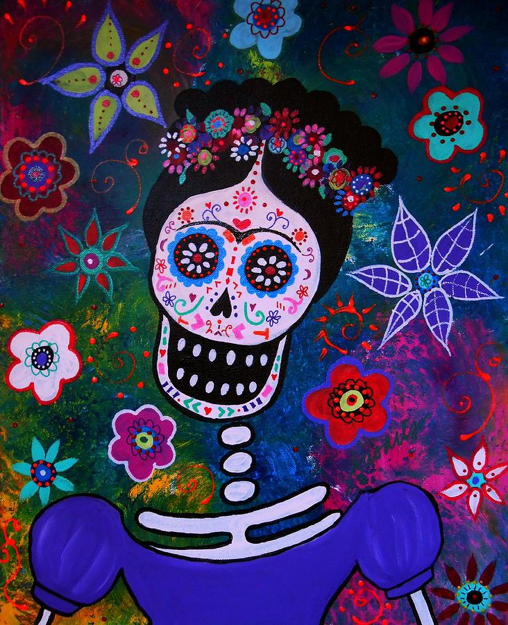 Frida Kahlo Painting - Lady Frida by Pristine Cartera Turkus