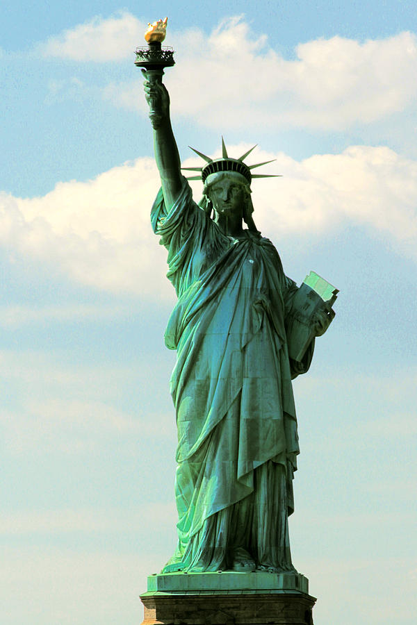 America Photograph - Lady Liberty by Artistic Photos