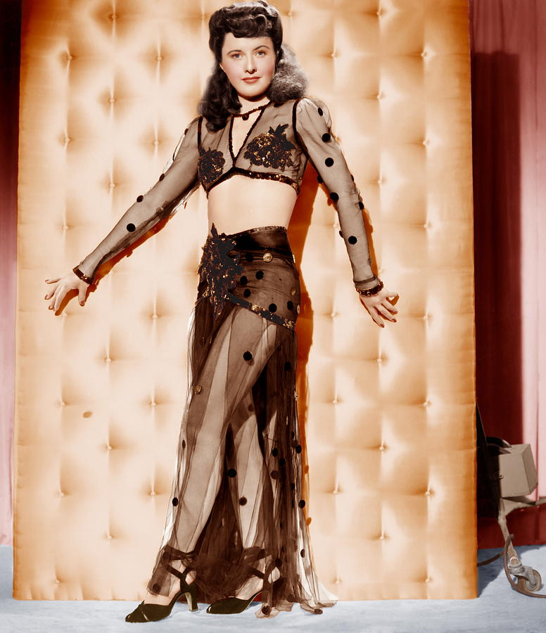 1940s Portraits Photograph - Lady Of Burlesque, Barbara Stanwyck by Everett