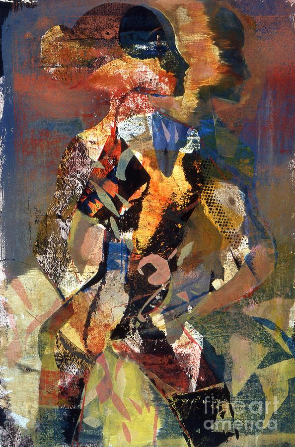 Lady Of Tucumcari Mixed Media by Charles B Mitchell