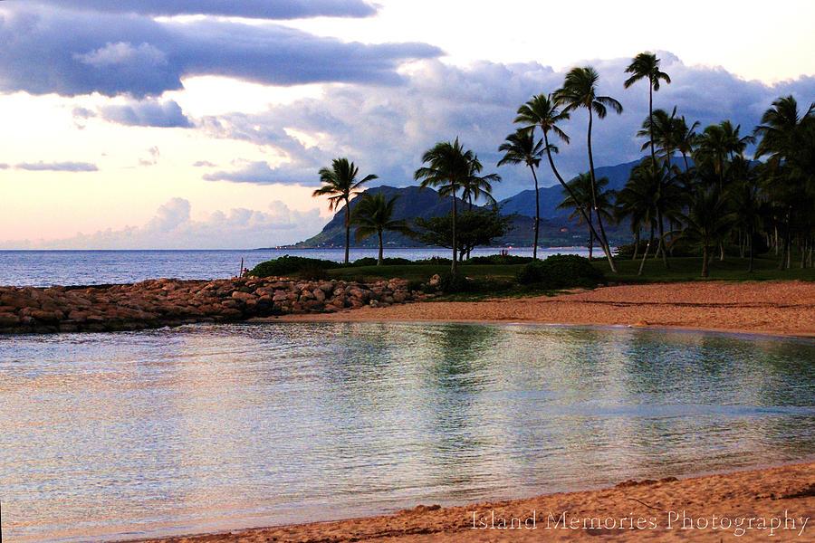 Hawaii Photograph - Lagoon Sunset by Naomi Hayes