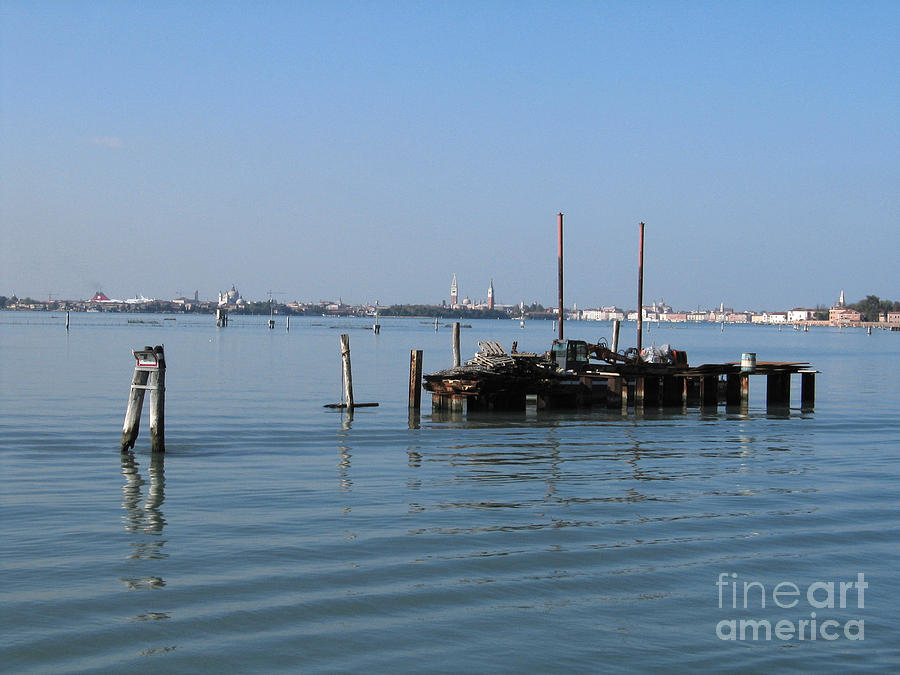 Italie Photograph - Lagoon. Venice by Bernard Jaubert