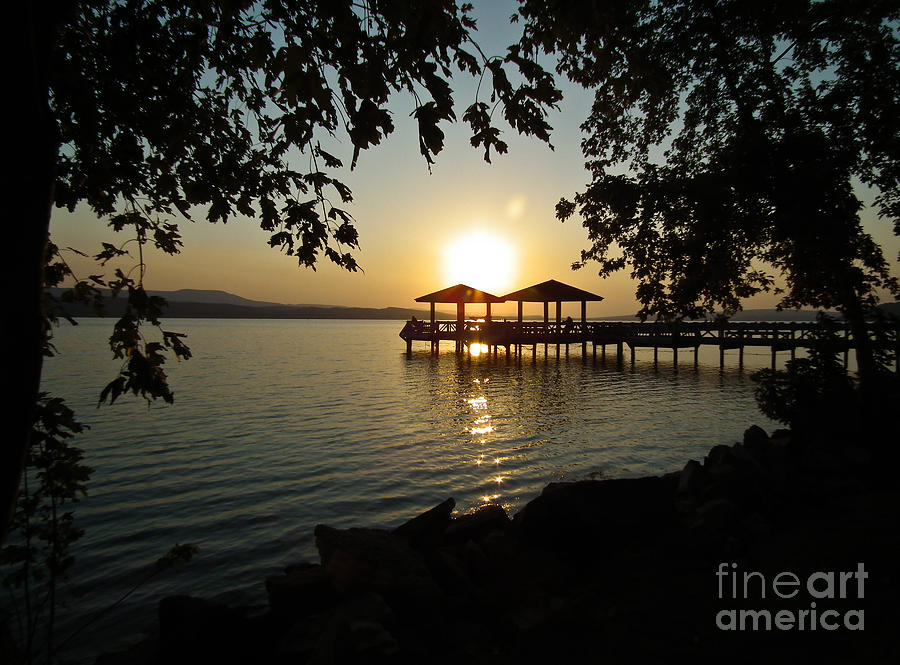 Russellville Photograph - Lake Dardanelle by Tammy Chesney