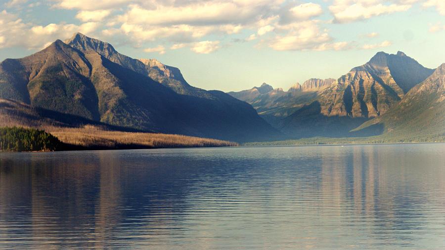 Glacier National Park Photograph - Lake Mcdonald At Sunset by Marty Koch