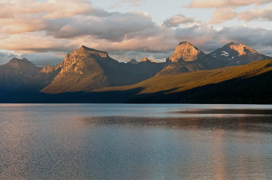 Mountain Photograph - Lake Mcdonald Sunset by Kevin King