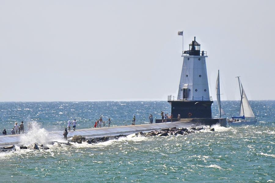 Lighthouse Tour Of Michigan