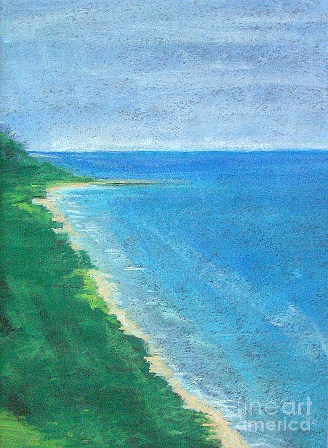 Lake Michigan Pastel by Lisa Dionne
