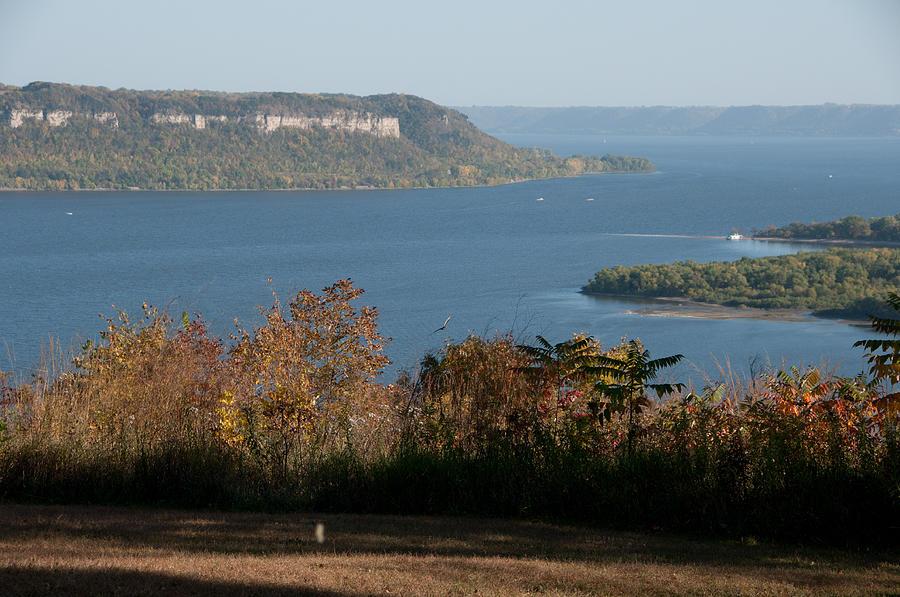 Lake Pepin Overlook Photograph By Jim Albert