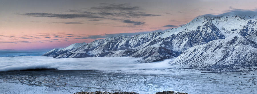 Lake Pukaki With Ben Ohau Range Photograph by Colin Monteath