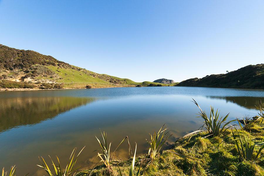 Lake Reflection Photograph by Graeme Knox