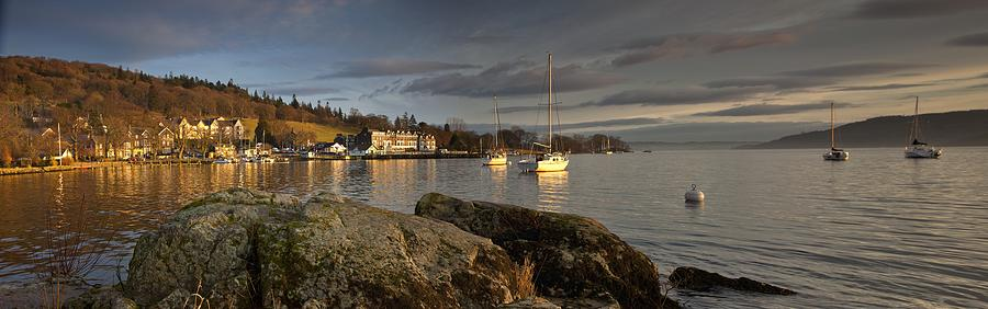 Boat Photograph - Lake Windermere Ambleside, Cumbria by John Short