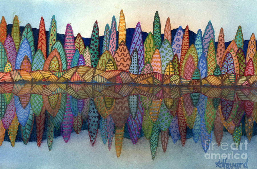 Lakeside Reflection by Anne Havard