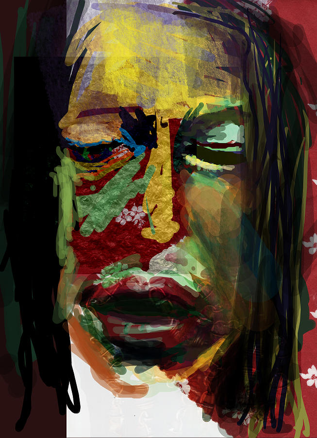 Abstract Digital Art - LaLa by James Thomas