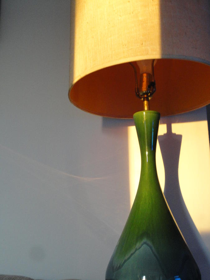 Lamp Photograph - Lamp And Shadows by Guy Ricketts