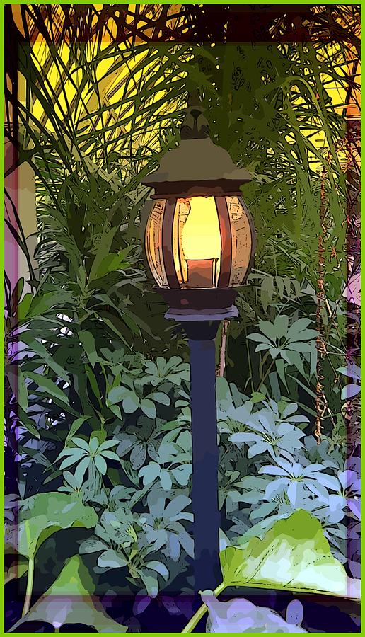 Lamp Photograph - Lamp Light by Mindy Newman