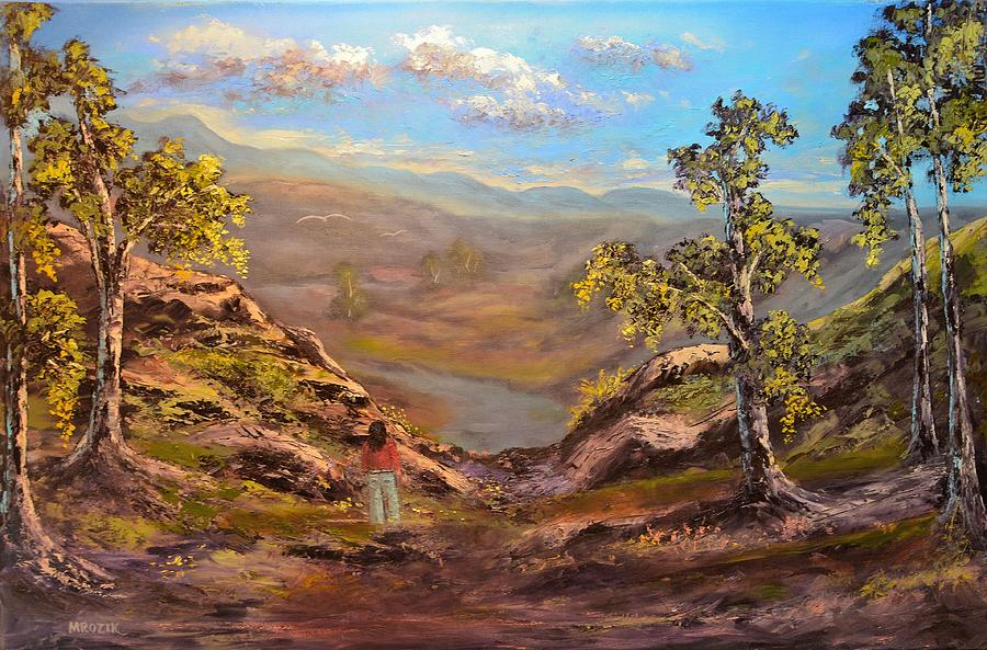 Landscape Painting - Land Like No Other  by Michael Mrozik
