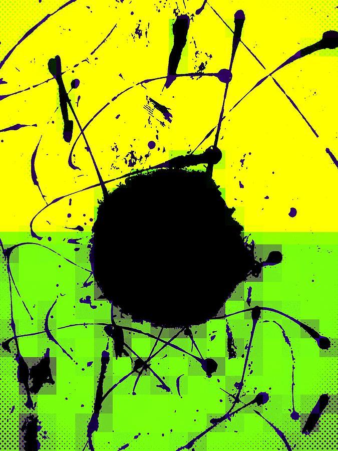 Abstract Digital Art - Land mines by Joseph Ferguson