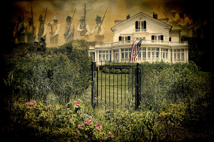 Revolution Photograph - Land Of The Free..home Of The Brave by Robin-Lee Vieira
