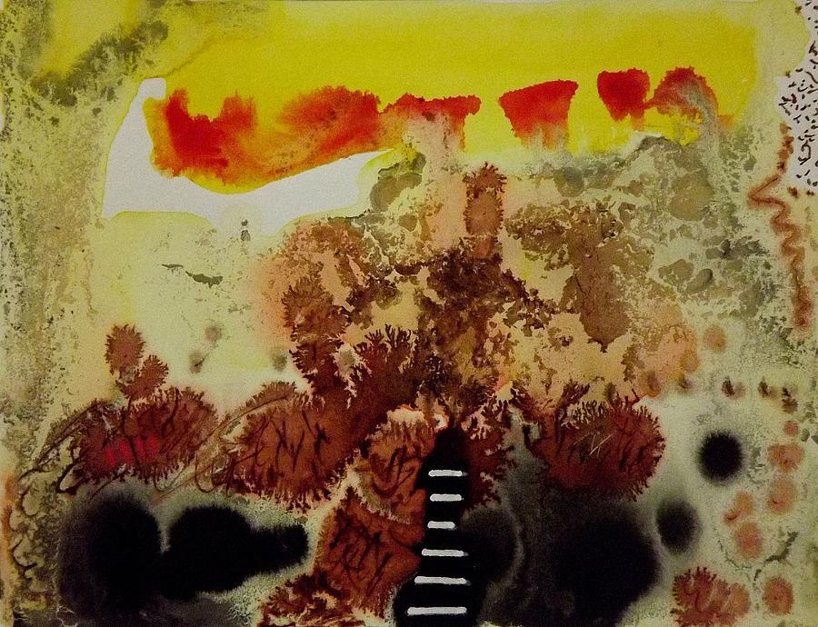 Painting Painting - Landmark by Jorgen Rosengaard