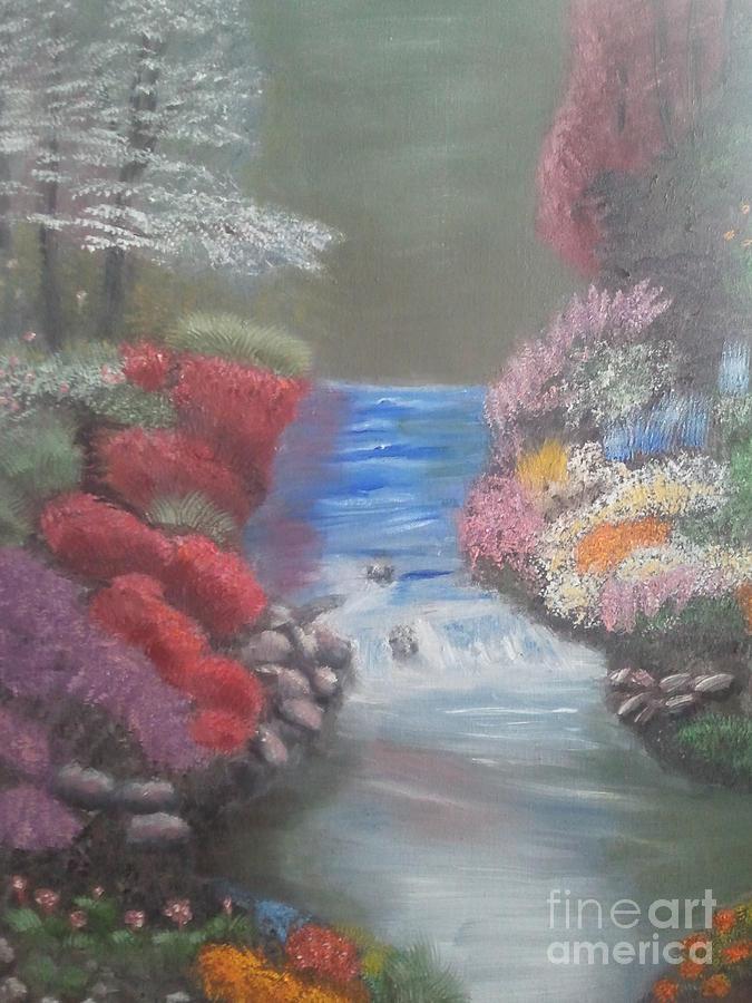 Landscape Painting - Landscape 2 by Lea Kirby