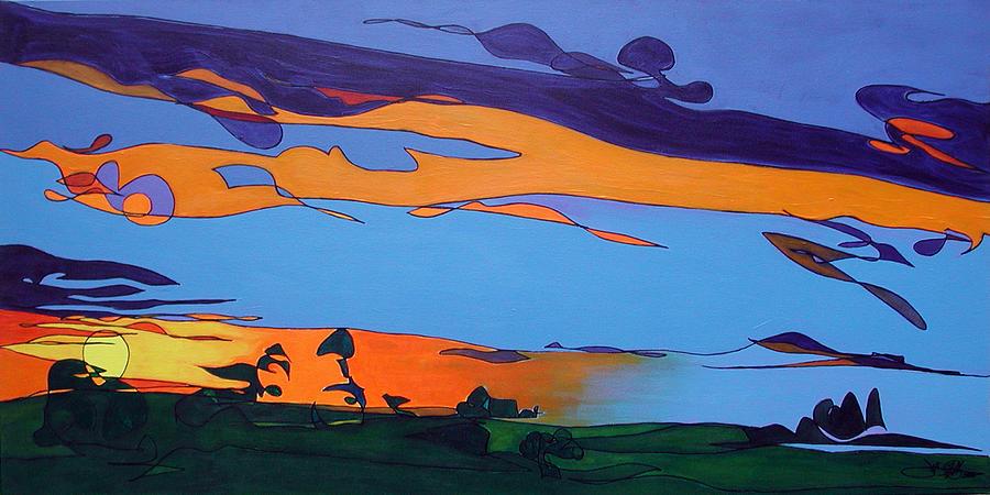 Landscape 283 by John Gibbs