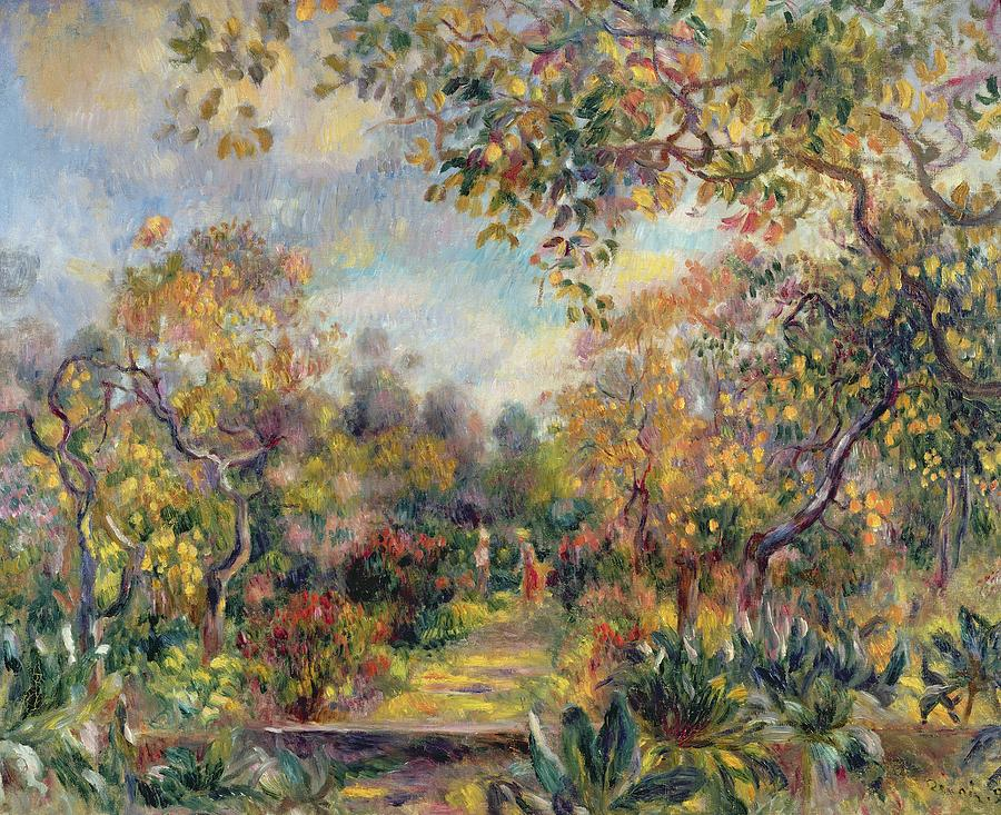 the work of cot and renoir In the garden, 1885 by pierre-auguste renoir, rejection of impressionism impressionism genre painting hermitage museum, saint petersburg, russia.