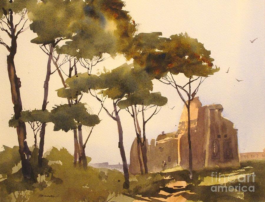 Landscape Painting by Joyce Senesac