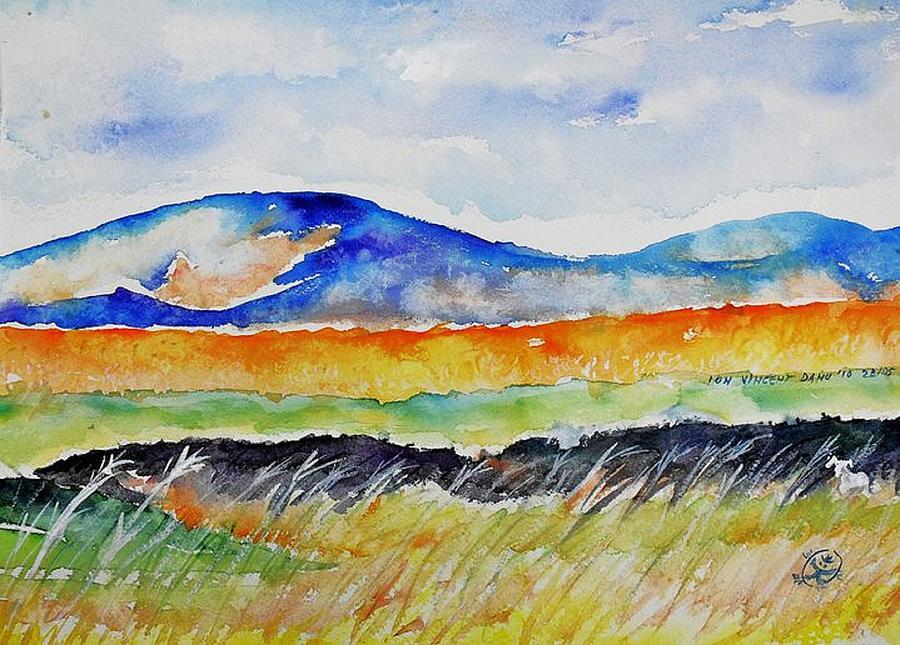 Landscape Study Painting