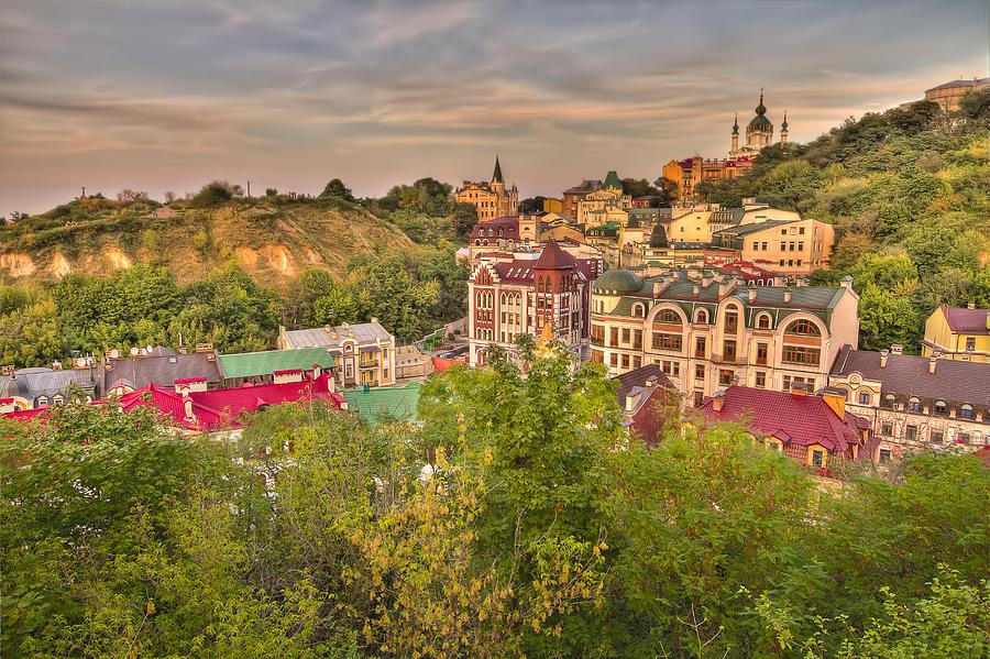 Kiev Photograph - Landscape Valley by Dmitriy Mirochnik
