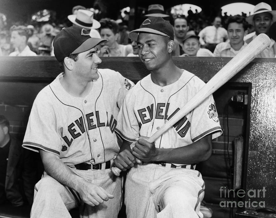 1947 Photograph - Larry Doby (1923-2003) by Granger